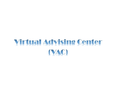 Link to Virtual Aadvising Ceneter
