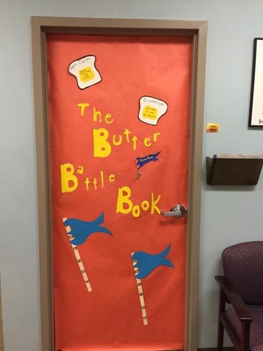 The Butter Battle Book Wall